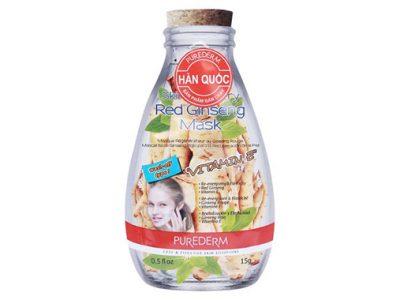 Mặt Nạ Bùn Nhân Sâm Vitamin E Purderm Túi 15G