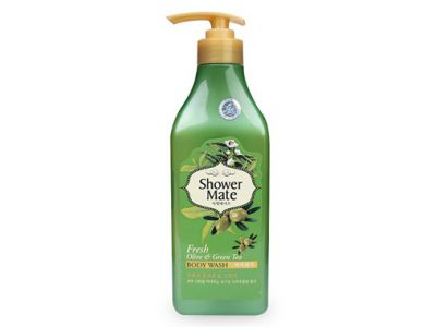 Sữa Tắm Hàn Quốc Shower Mate Fresh Olive & Green Tea 550G