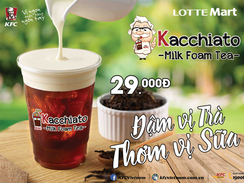 KFC - Trà Sữa Milkfoam Kacchiato