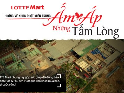 ẤM ÁP NHỮNG TẤM LÒNG - CHUNG TAY CÙNG LOTTE Mart