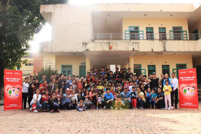 Chương trình Ngày Từ thiện LOTTE – Hoạt động vì cộng đồng năm 2017 của Tập đoàn LOTTE