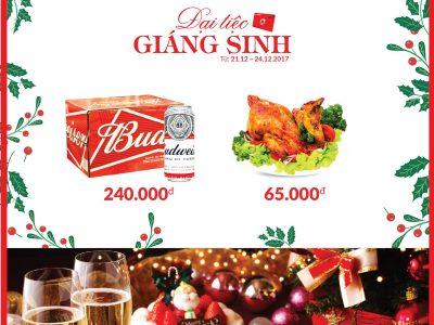 KHUYẾN MÃI DUY NHẤT 04 NGÀY - cho ĐẠI TIỆC Giáng Sinh siêu KHỦNG