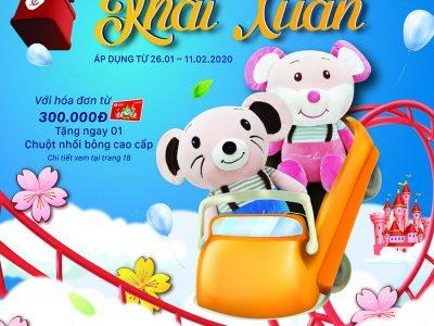 Quà Tặng Khai Xuân 26.01 - 11.02.2020
