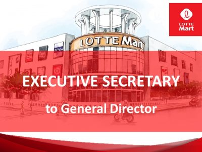 Executive Secretary to General Director
