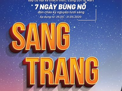SANG TRANG 25.05 - 31.05.2020