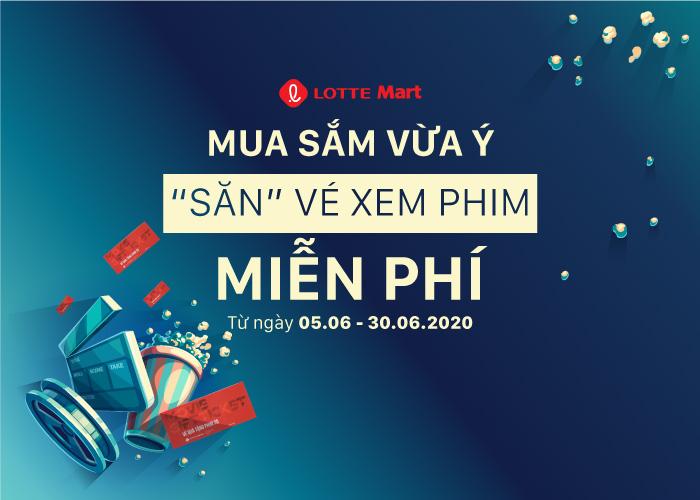 """""""SĂN"""" NGAY VÉ XEM PHIM MIỄN PHÍ TẠI LOTTE Mart ĐÀ NẴNG"""
