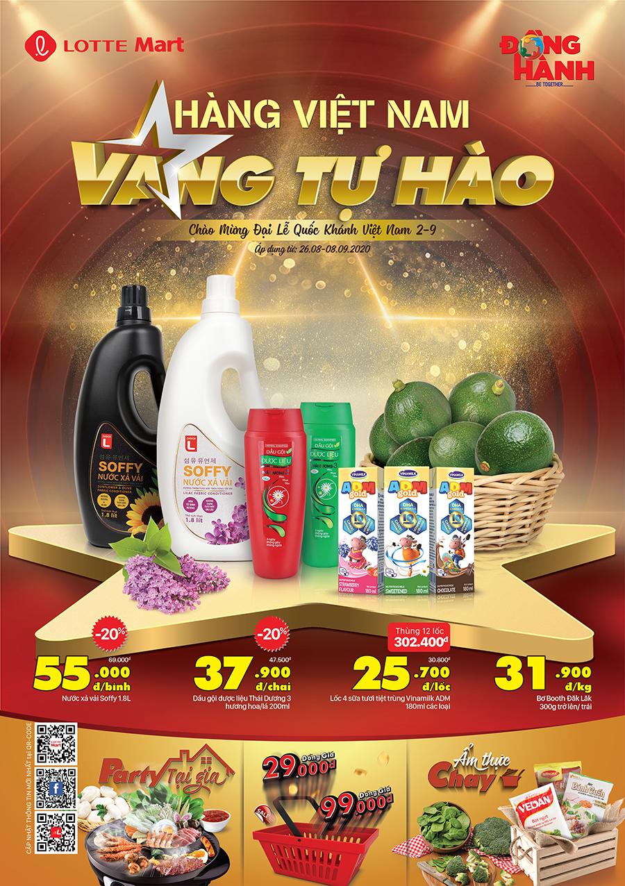 Hàng Việt Nam Vang Tự Hào 26.08 - 08.09.2020