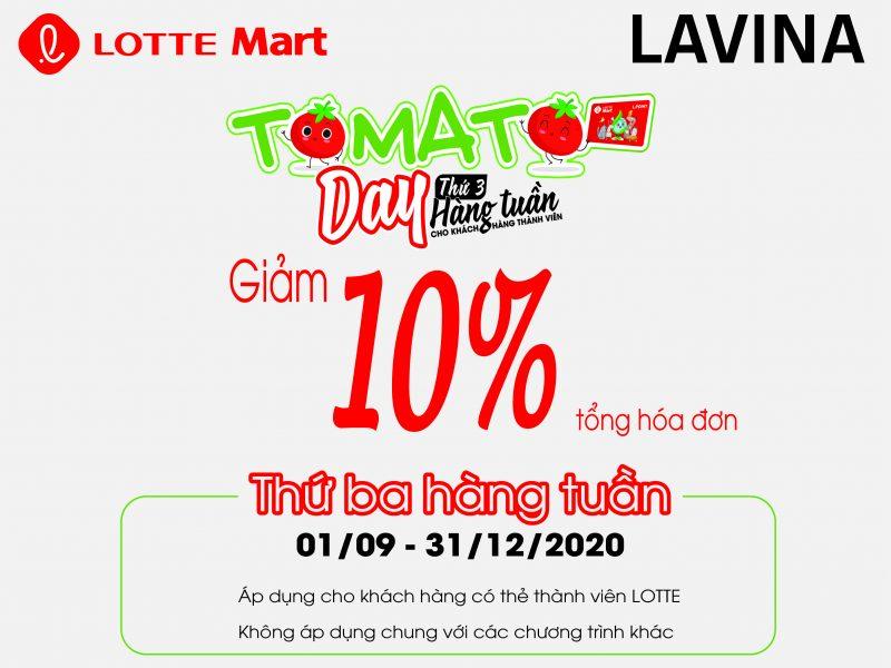 LAVINA - TOMATO DAY
