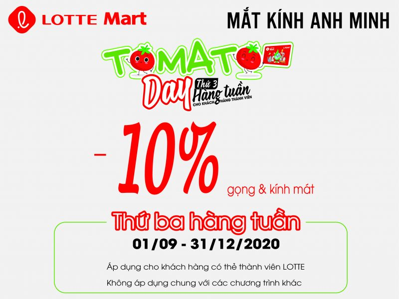 MẮT KINH ANH MINH - TOMATO DAY