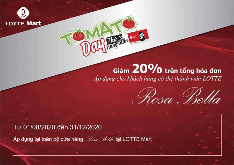 TOMATO DAY - Giảm giá 20%
