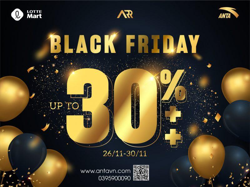 BLACK FRIDAY: MUA SẮM THẢ GA, KHÔNG LO VỀ GIÁ #UP_TO_30%