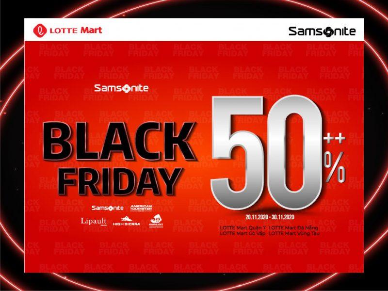 [SAMSONITE] BLACK FRIDAY - DISCOUNT 50% ALL ITEMS ⚫ Vali, Balo, Túi xách hàng hiệu - Bảo hành quốc tế