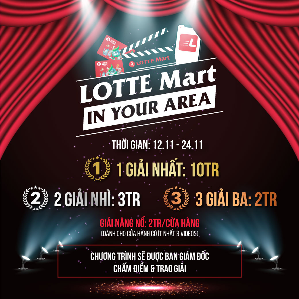 LOTTE Mart IN YOUR AREA