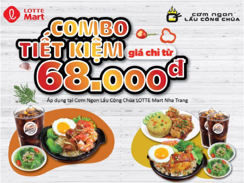 COMBO TIẾT KIỆM CHỈ TỪ 68.000VND