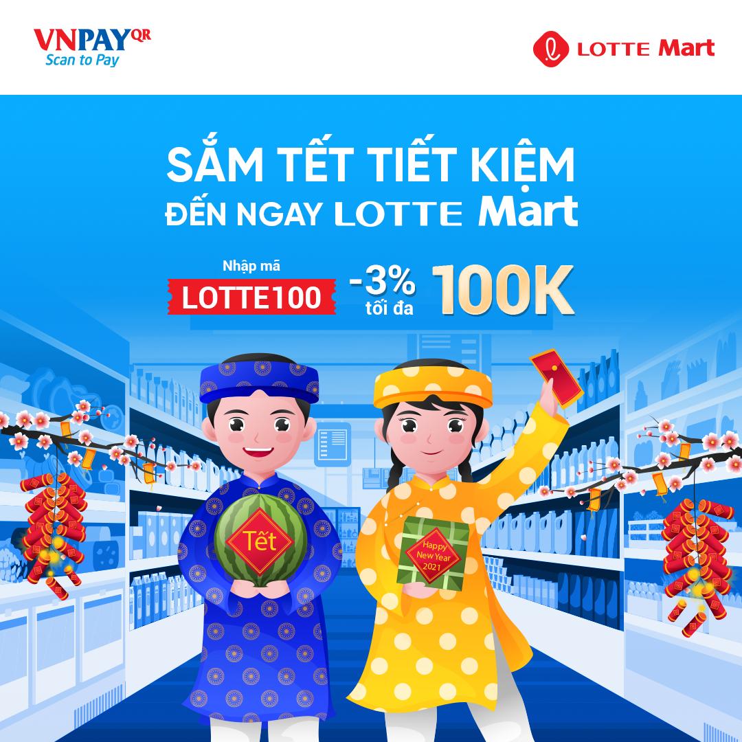 Sắm tết tiết kiệm, đến ngay LOTTE Mart Vietnam