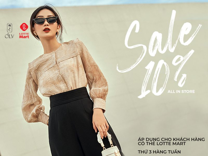 OLV - Sale off 10%