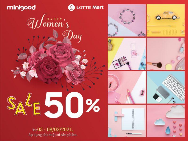 HAPPY WOMEN'S DAY X MINIGOOD ❤