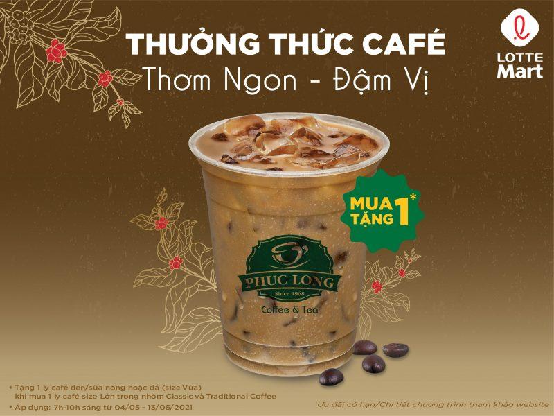 ☕️ MUA 1 TẶNG 1: CAFÉ PHÚC LONG THƠM NGON - ĐẬM VỊ