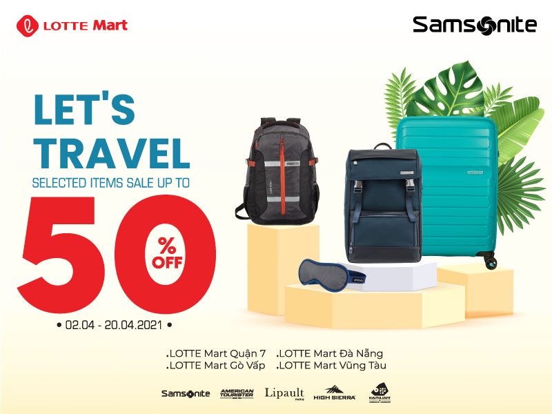 Let's Travel With Samsonite 🌍