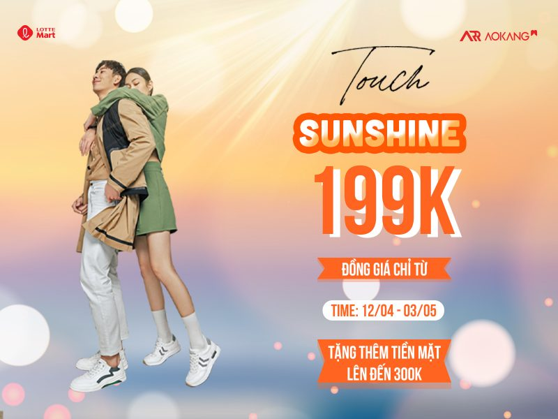 Touch Of Sunshine || Đồng giá chỉ từ 199K Sale up to 50% +