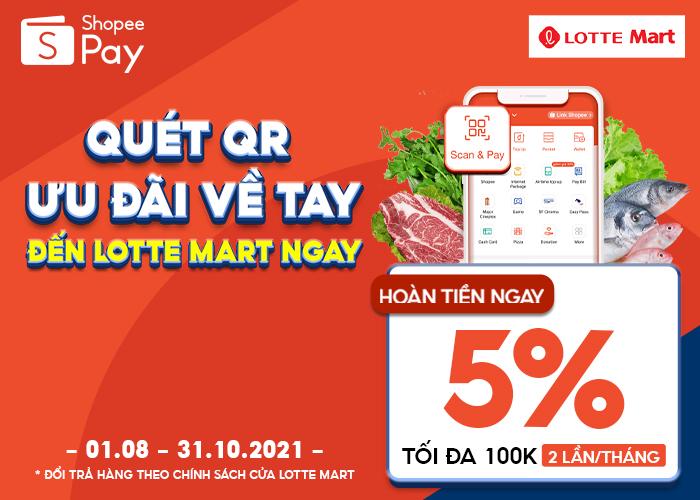 Quét QR ShopeePay - Nhận Ưu Đãi Mỗi Ngày